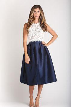 Leighton White Sleeveless Lace Top