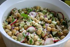 Sprinkles of Parsley: Chickpea and Tuna Fish Salad