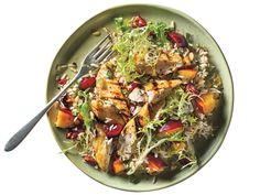 Stone Fruit Chicken-Rice Salad | Maintaining a healthy weight or trying to lose a few pounds ultimately revolves around the science of counting calories. It's a tedious task to tabulate every morsel you put in your mouth, but there's a simpler and much more flexible strategy: Start a file of skinny recipes. Use this collection of low-calorie dinners as a starting point. As always, taste comes first, so we've pulled together our best recipes that are big on flavor and in step with all the…