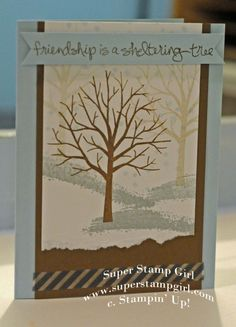 Sheltering Tree by Super Stamp Girl