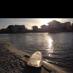 Paddle boarding ;)