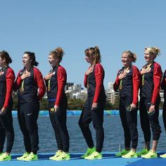 Americas Best Olympic Team Wins Gold Again #Sports  Americas Best Olympic Team Wins Gold Again The women's eight rowing team now won 11 straight world and Olympic titles
