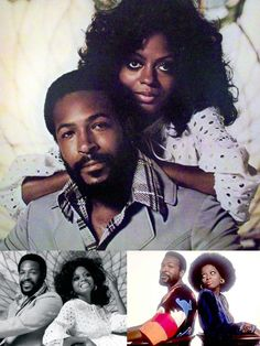 Marvin Gaye & Diana Ross, 1973...I say it all the time, it's a good thing I was born when I was, else I'd been a Marvin Groupie...not for the look...for the sound