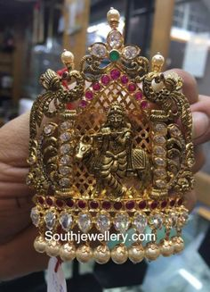 Gold Jewelry From Egypt Info: 2270018164 Kids Gold Jewellery, Indian Jewellery Design, Temple Jewellery, Jewelry Design, Antique Jewellery, Designer Jewelry, Jewelry Shop, Quartz Jewelry, 14k Gold Jewelry