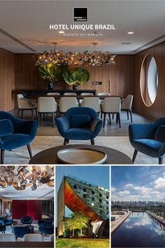 For the presidential suite of Hotel Unique in Brazil, William Brand was commissioned to create a bespoke modern chandelier befitting the distinctive building and Brazil's bustling metropolis, Sao Paulo. Curious to know what William can create for your space? Visit our website for more information.  #brandvanegmond #hotellightingdesign #modernchandeliers #contemporarychandelier #interiorlightingdesign Restaurant Lighting, Contemporary Chandelier, Modern Light Fixtures, Chandeliers, Lighting Design, Decorating Your Home, Bespoke, Brazil, Van