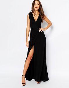 Image 4 ofTTYA Sleeveless Maxi Wrap Dress