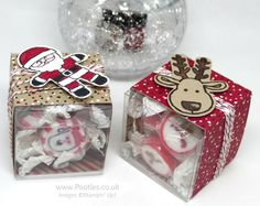 Pootles Advent Countdown 2016 Rock Candy Treat Boxes