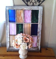 Easy DIY Stained Glass Window