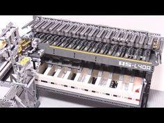 Lego Mindstorms AxleSorter: Rube Goldberg would be proud
