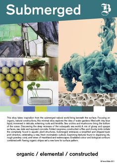 Submerged story for home & interiors FW 2013/14
