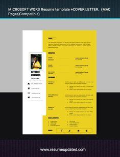 Modern Resume Template, Professional Resume, Cover Letter Format, Cv Design, Lettering, Templates, Resume Maker Professional, Design Resume, Stencils