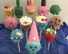 Shopkins Cake Pops!!!