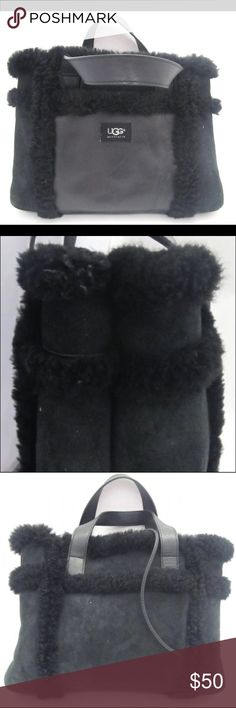 UGG Sheepskin Handbag UGG Sheepskin Handbag pre owned UGG Bags Totes