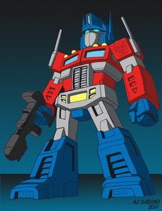Mini G1 Optimus colors by BDixonarts.deviantart.com on @deviantART
