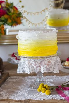 Tort nunta - August 2014 Wedding With Kids, Wedding Day, Wedding Themes, Wedding Cakes, Purple Cakes, Cupcakes, Yellow Wedding, Some Ideas, Cakes And More
