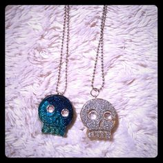 Resin Skull Necklaces