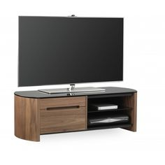 FW1100CB TV Stand in Walnut For 50