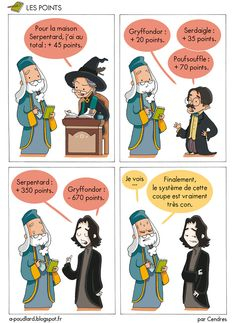 Le système de points, par Cendres (even though it's ok French) Harry Potter Comics, Humour Harry Potter, Harry Potter Parody, Harry Potter Car, Harry Potter Jk Rowling, Always Harry Potter, Harry Potter Anime, Harry Potter Hermione, Harry Potter Universal
