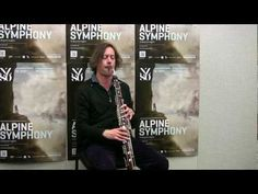 The Heckelphone is in the oboe section. Made in 1904 by the German bassoon-maker Heckle and played with a bassoon reed. Demo with Hamish McKeich. Bassoon, Oboe, English Horn, Instruments, Piano Music, German, Youtube, Painted Canvas, Deutsch