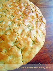 The Sweet Details: Baking Goal: Herb & Garlic Focaccia Bread