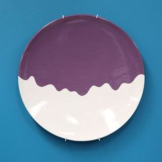 what a great way to personalize your table. this could be done at home with pebeo porcelene(sp?) paint