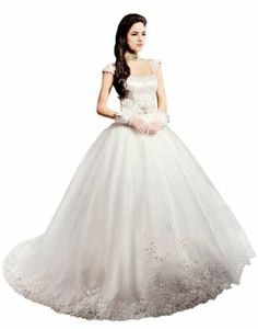 Passat Women's Wedding Dress Ball Gown