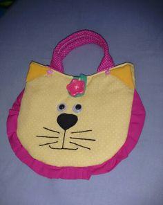 Bolsinha infantil gatinho