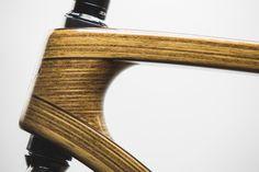 Ljubljana-based Tratar Bikes team just debuted their beautiful handmade wooden bicycles on Kickstarter.