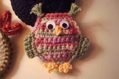 Crochet Owl, I'm teaching myself to crochet.  I want to make this!