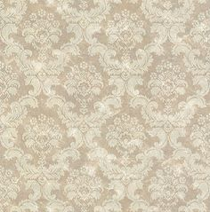 Damask Wallpaper - dining room/family room?