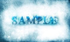 chilling icy text effect flatten 500x300 Design a Chilling and Icy Text Effect in Photoshop