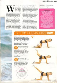 I use the Tracy Anderson method, I do not follow it strictly, but her abcentric work outs are great!