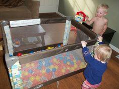 100 Ways to entertain a toddler