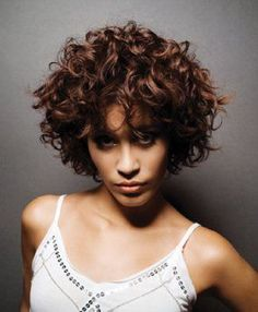 For Curly Short Hairstyles there are plenty of variations available. Short and natural curly hairs like other hair types can elegantly style. #hairstraightenerbeauty #curlyshorthairstylesforwomen #curlyshorthairstylesforwomenover50
