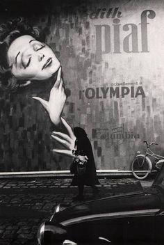 Kurt Will. Edith Piaf.  At the Olympia  Paris