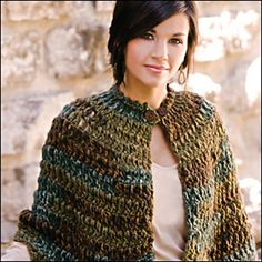 I fell in love with this at first sight!  Not high on my wish list (because I don't know where to get the yarn it calls for), but I would like to make it at some point.
