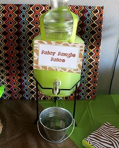 Whimsy & Wise Events: Modern Safari Shower