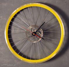 Zegar ścienny times's zegary bikes bazaar industrialny rower