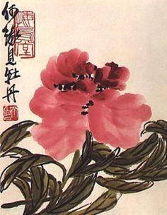 Qi  Baishi, Peony