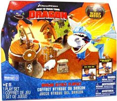 How to Train Your Dragon Playset Dragon Attack with Deadly Nadder by Spin Master. $89.99