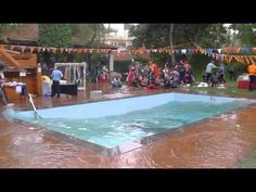 YouTube: April 2015 Nepal Earthquake during Pool Party