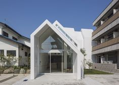 House-shaped clinic designed by Hkl Studio to make elderly patients feel more at home *Technically not a house...