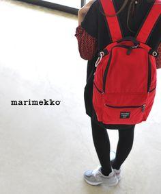 【楽天市場】marimekko マリメッコ BUDDY/ナイロン バックパック・52631-26994(unisex)【2014秋冬】:Crouka(クローカ)