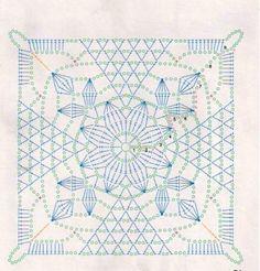 Transcendent Crochet a Solid Granny Square Ideas. Inconceivable Crochet a Solid Granny Square Ideas. Crochet Motif Patterns, Crochet Blocks, Crochet Diagram, Crochet Squares, Crochet Chart, Crochet Stitches, Lace Patterns, Beau Crochet, Love Crochet