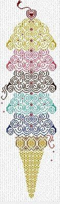 Super Ice Cream - Cross Stitch Pattern