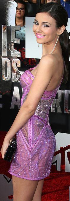 Victoria Justice - 2014 MTV Movie Awards - Los Angeles - April 13, 2014