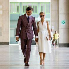 Just Smile With Style: Fashionable Couples: Roberto Mararo & Eleonora Sebastiani