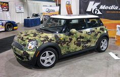 Gallery: 25 Crazy Camouflage Cars