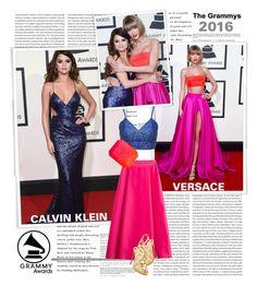 """Grammy Awards 2016..."" by unamiradaatuarmario ❤ liked on Polyvore featuring Alberta Ferretti, Christian Louboutin, Chanel, women's clothing, women, female, woman, misses, juniors and taylorswift"