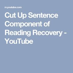 writing component of reading recovery youtube kindergarten writing component of reading recovery youtube kindergarten writing ideas pinterest recovery reading recovery and literacy thecheapjerseys Gallery